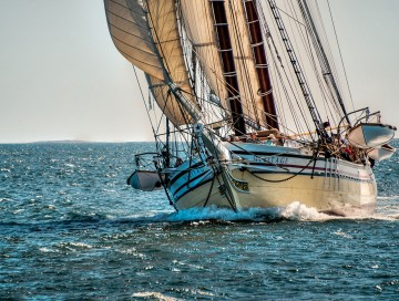 Step Back in Time Aboard a Maine Windjammer