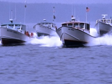 Maine Lobster Boat Racing: Be a Spectator!