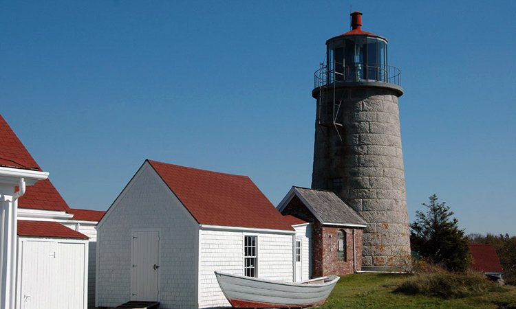 Photo of Monhegan Light House Courtesy of The Lighthouse Inn