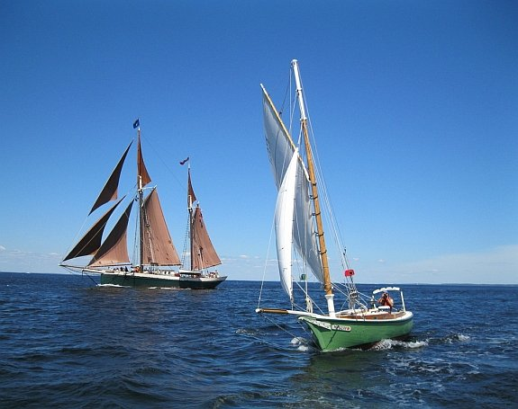 Photo Courtesy of Bufflehead Sailing Charters
