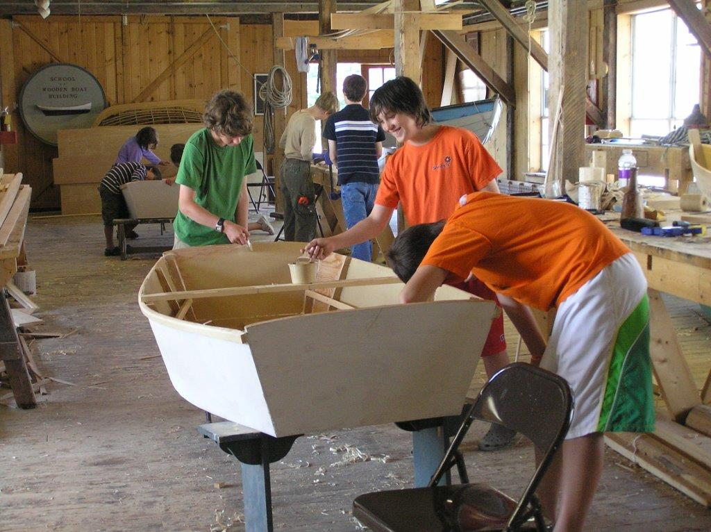 Youth-Boatbuilding