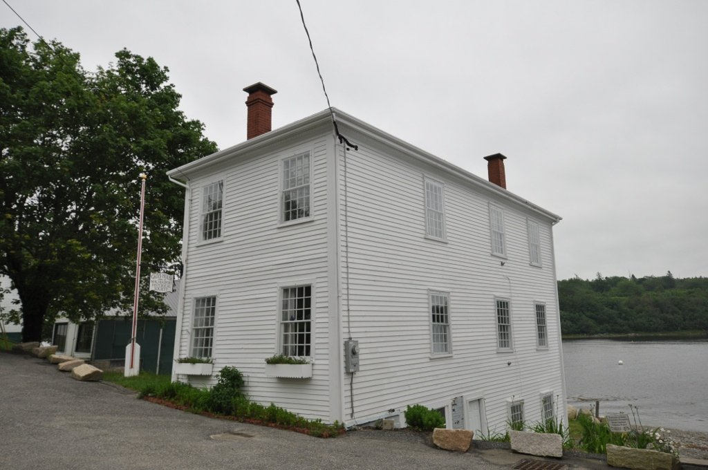 Gates House in Machiasport