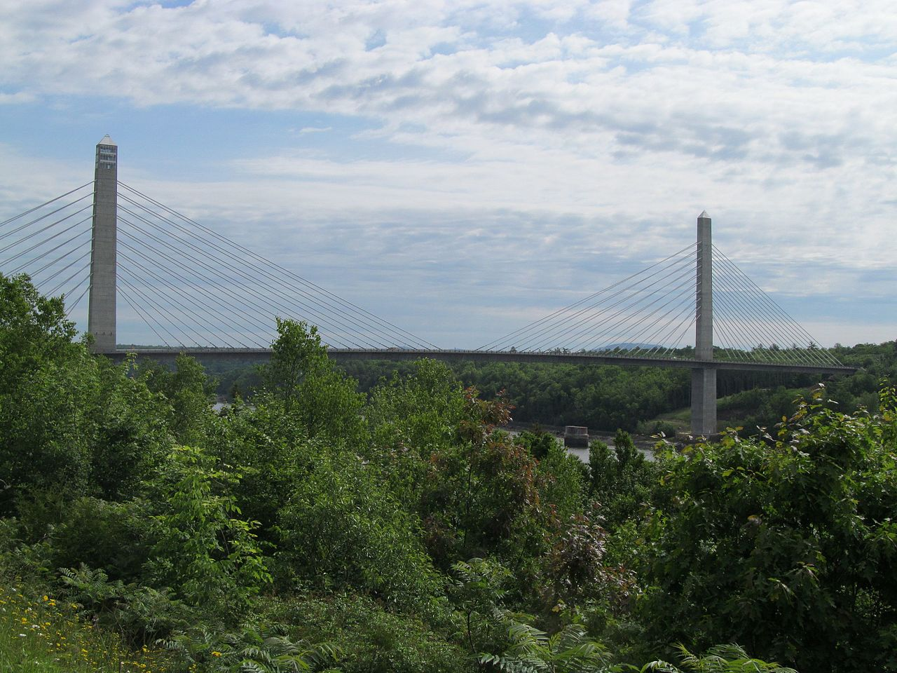 Penobscot Narrows Bridge and Observatory: The Tallest Bridge Observatory in the World!