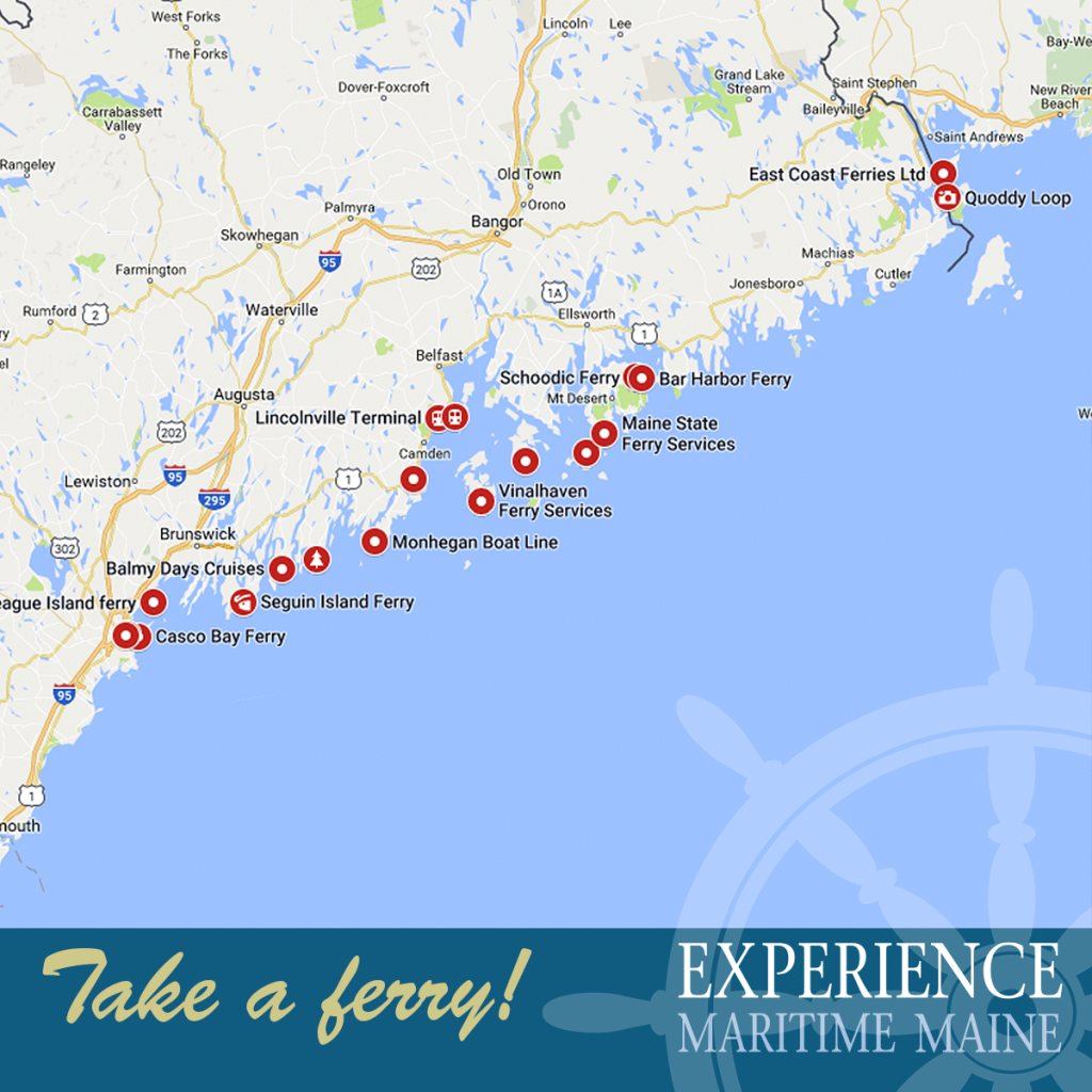 Experience Maine From The Water Experience Maritime Maine