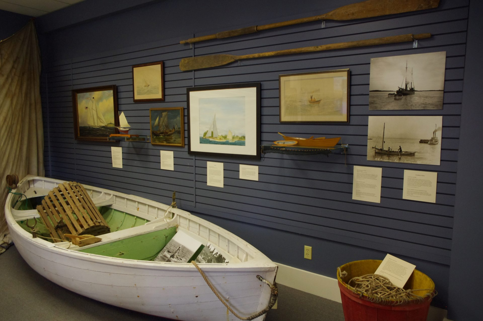 Exhibit on Maine Fisheries at the Penobscot Marine Museum