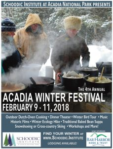 POSTER OF WINTER ACADIA FESTIVAL 2018