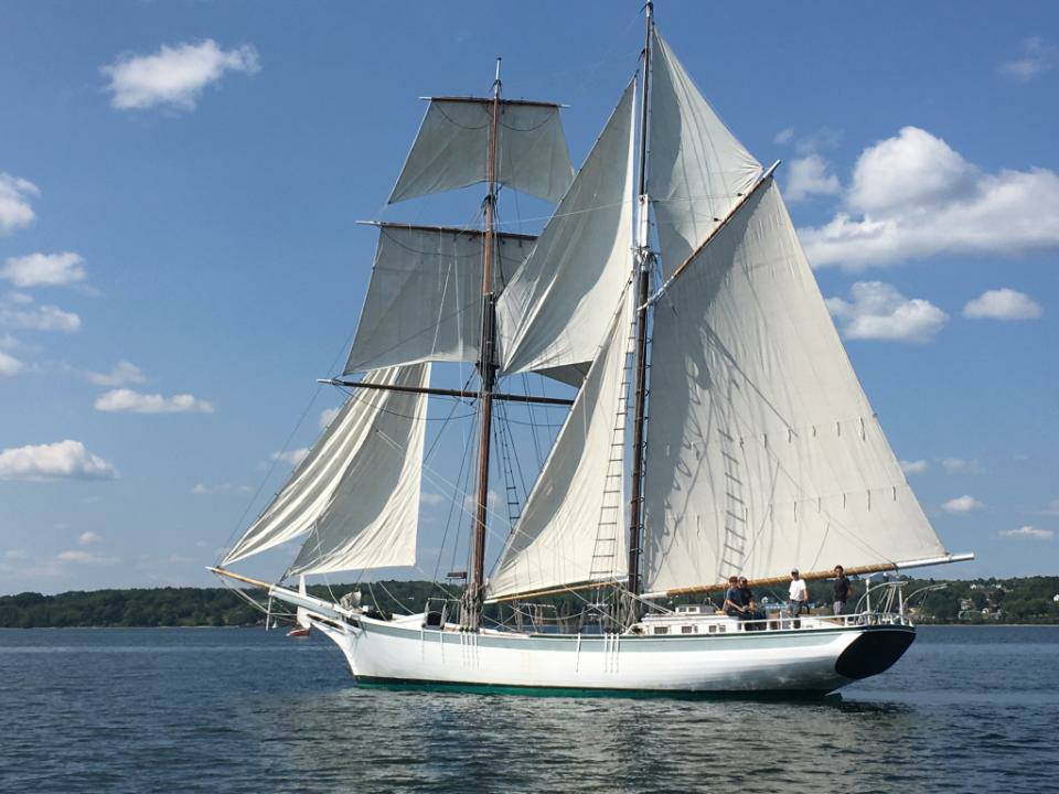 ACTRESS – Sailing Charter in Belfast, Maine
